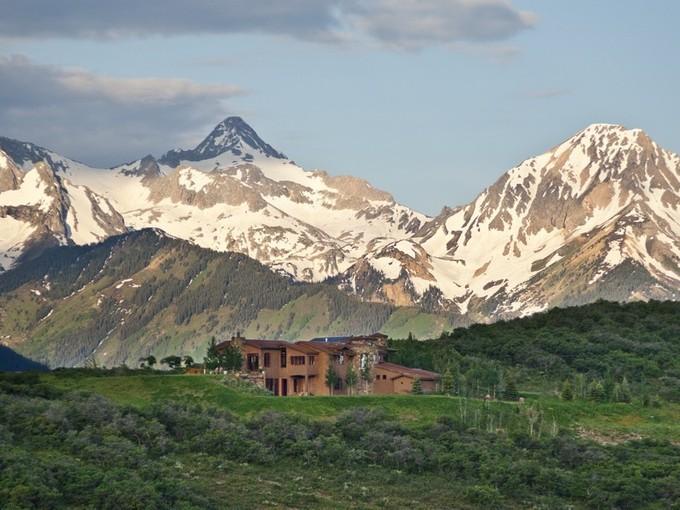 Casa Unifamiliar for sales at Casa del Cielo 2909 Juniper Hill Drive  Aspen, Colorado 81611 Estados Unidos