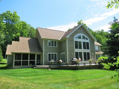 Single Family Home for sales at Remarkable High Meadow Post & Beam 14 Stonehouse Road High Meadow Winhall, Vermont 05340 United States