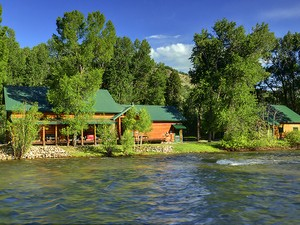 Single Family Home for Sales at A River In The Backyard 43605 RCR 129 Steamboat Springs, Colorado 80487 United States