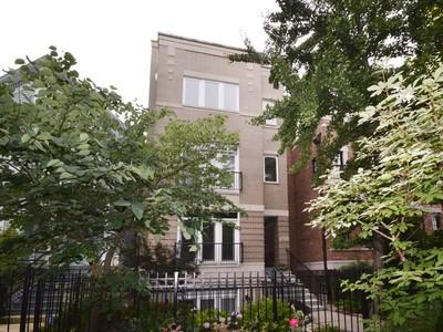Appartement en copropriété for sales at Massive Upper Duplex Condo 2654 N Racine Avenue Unit 3   Chicago, Illinois 60614 États-Unis