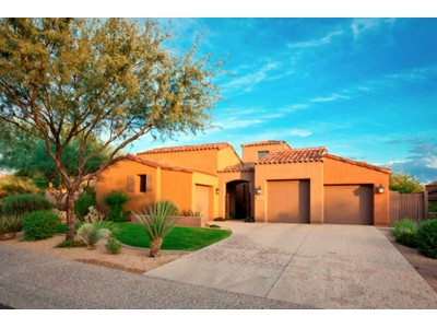 Single Family Home for sales at Beautiful Home With Tuscan Flair In A Pristine Grayhawk Neighborhood 8465 E Angel Spirit Drive Scottsdale, Arizona 85255 United States