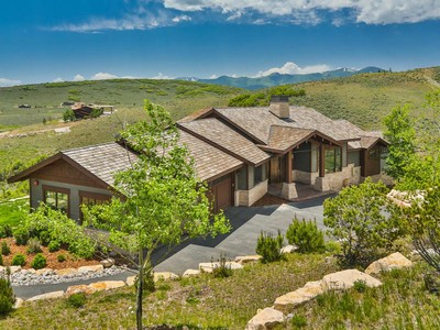Single Family Home for sales at Immaculate Contemporary Design – Membership Deposit Included 3520 E Ridgeway Dr Heber City, Utah 84032 United States