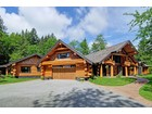 Vivienda unifamiliar for  sales at French Country Style Log Home 11143 Hynes Street Maple Ridge, British Columbia V2W1Y6 Canadá