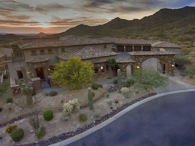 Single Family Home for sales at Grand Estate in Las Sendas 4348 N Diamond Point Center Mesa, Arizona 85207 United States