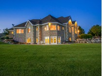 独户住宅 for sales at Mansion On top of a 6.5 Acre Knoll with true 360 Degrees of the Best Views! 1105 E 1050 N   Heber, 犹他州 84032 美国