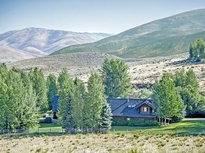 Granjas / Hacienda / Platanción for sales at Horseman's Horse Property 48 Croesus Creek Rd Hailey, Idaho 83333 Estados Unidos