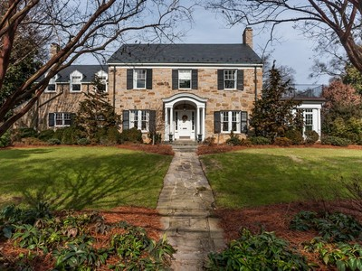 Einfamilienhaus for sales at Elegant Southern Estate! 2419 Anderson Drive Raleigh, North Carolina 27608 Vereinigte Staaten