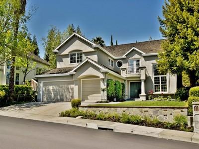 Single Family Home for sales at Fantastic Tassajara Creek Location 121 Rassani Drive Danville, California 94506 United States