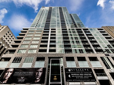 Condominio for sales at Montreal   Downtown 1225 Rue University, apt. 2702 Montreal, Quebec H3B9A9 Canadá