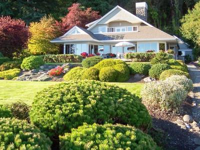 Single Family Home for sales at Island Retreat on South Beach 10596 NE South Beach Dr Bainbridge Island, Washington 98110 United States