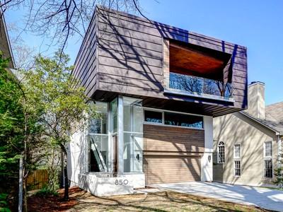 Single Family Home for sales at Gorgeous Modern In Midtown 850 Vedado Way NE Atlanta, Georgia 30308 United States
