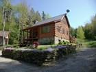 Casa Unifamiliar for sales at Stratton Log Home 9 Willis Cemetery Road  Stratton, Vermont 05360 Estados Unidos