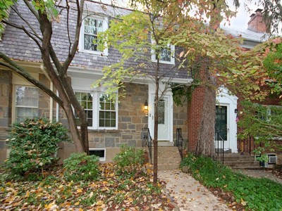 Townhouse for sales at Burleith 1715 37th Street Nw Washington, District Of Columbia 20007 United States