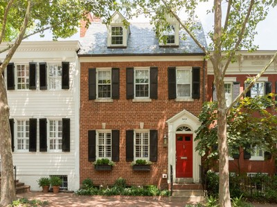Townhouse for sales at Georgetown 3015 P Street Nw Washington, District Of Columbia 20007 United States