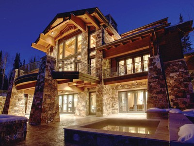 Single Family Home for sales at Untracked Powder at the Top of the World 63 Red Cloud Trl   Park City, Utah 84060 United States