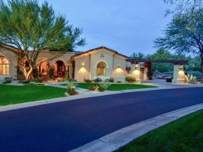 Casa para uma família for sales at Gracious DC Ranch Country Club Home 9290 E Thompson Peak Pkwy #116, Scottsdale, Arizona 85255 Estados Unidos