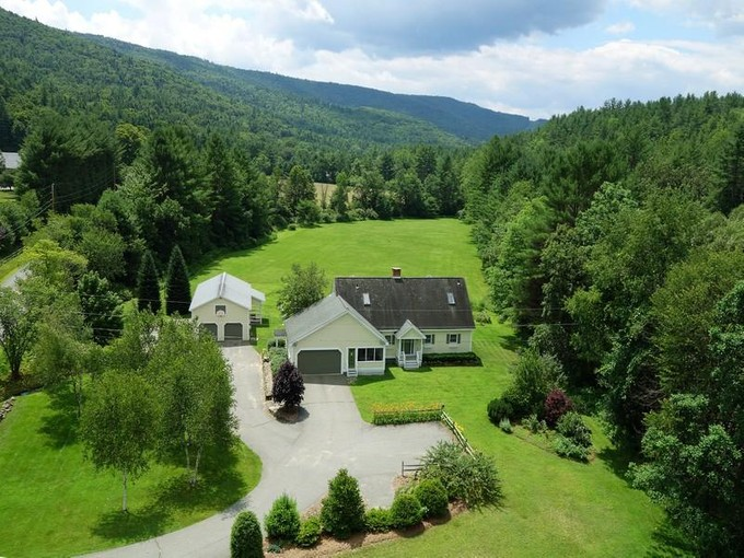 Single Family Home for sales at Country Cape 505 Grassy Brook Road, Brookline, VT 05345 United States