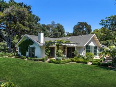 Einfamilienhaus for sales at Montecito Farmhouse 1853 San Leandro Lane Montecito, Kalifornien 93108 Vereinigte Staaten