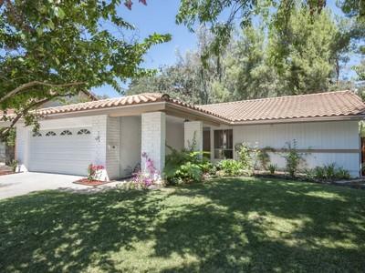Single Family Home for sales at Beautiful Westlake Village 2479 Leaflock Avenue Westlake Village, California 91361 United States