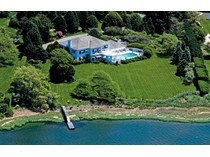 Single Family Home for sales at Waterfront Estate on Captains Neck Lane    Southampton, New York 11968 United States