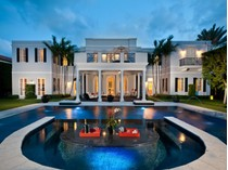 Casa Unifamiliar for sales at Sophisticated Regency Estate 695 S County Rd   Palm Beach, Florida 33480 Estados Unidos