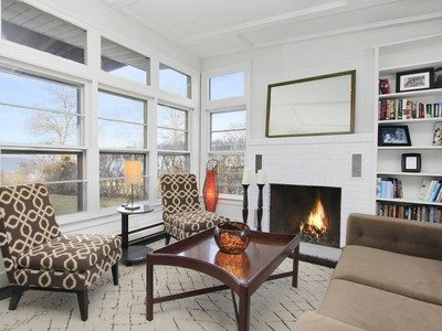 Single Family Home for sales at Beachfront Cottage, Panoramic Views 24 Ninevah Pl Sag Harbor, New York 11963 United States
