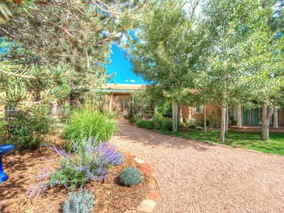 Single Family Home for sales at 1055 Camino Rancheros  Santa Fe, New Mexico 87501 United States