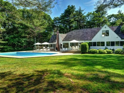Maison unifamiliale for sales at Stunning East Hampton Contemporary  East Hampton, New York 11937 États-Unis
