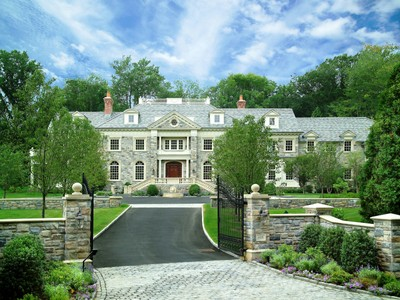 Single Family Home for sales at Georgian Masterpiece 605 North Street Greenwich, Connecticut 06830 United States