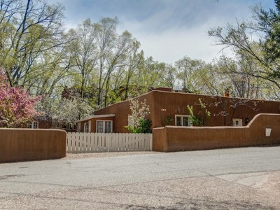 Single Family Home for sales at 405 Camino Del Monte Sol  Santa Fe, New Mexico 87505 United States
