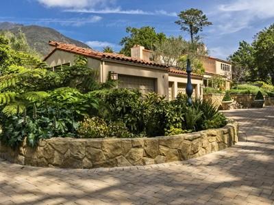 Einfamilienhaus for sales at Sought After Montecito Location 880 Buena Vista Drive Montecito, Kalifornien 93108 Vereinigte Staaten