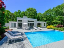 Casa para uma família for sales at Chic, Sleek, Modern, East Hampton    East Hampton, Nova York 11937 Estados Unidos
