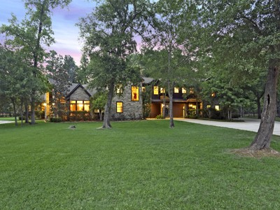 Maison unifamiliale for sales at 9934 Crestwater Circle   Magnolia, Texas 77354 États-Unis