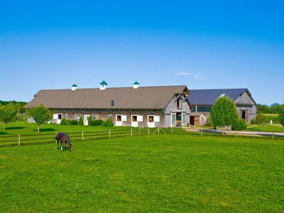 Farm / Ranch / Plantation for sales at Approx. 14-Acre Horse Farm, Custom Barns  Water Mill, New York 11976 United States