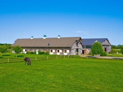 農場/牧場 / プランテーション for sales at Approx. 14-Acre Horse Farm, Custom Barns   Water Mill, ニューヨーク 11976 アメリカ合衆国