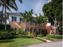 Maison unifamiliale for sales at Beautiful British West Indies 7601 S Flagler Dr   West Palm Beach, Florida 33405 États-Unis