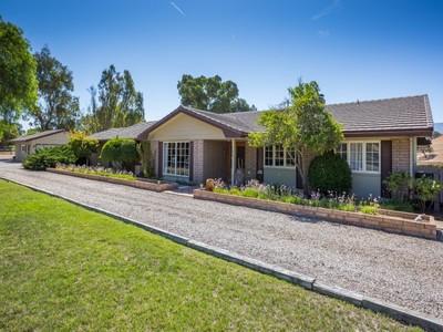 独户住宅 for sales at Rancho Estates Charmer  Santa Ynez, 加利福尼亚州 93460 美国