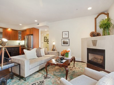 共管物業 for sales at Exquisite Nob Hill Condo 1601 Pacific Ave Apt 201 San Francisco, 加利福尼亞州 94109 美國