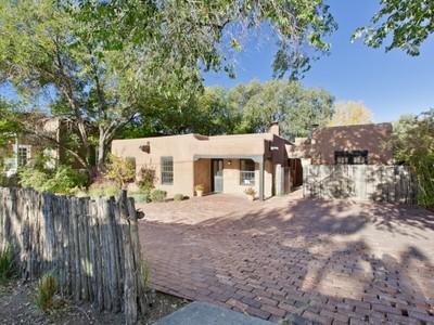 Einfamilienhaus for sales at 216 Otero Street   Santa Fe, New Mexico 87501 Vereinigte Staaten