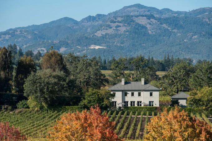 Casa para uma família for sales at Modern Country Villa 1141 Ehlers Lane St. Helena, Califórnia 94574 Estados Unidos