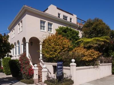 Maison unifamiliale for sales at Cow Hollow View Home in Garden Oasis 2900 Baker St San Francisco, Californie 94123 États-Unis