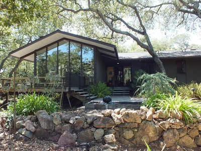 Single Family Home for sales at Artistic Setting with Zen Atmosphere 19 Oak Grove Way Napa, California 94559 United States