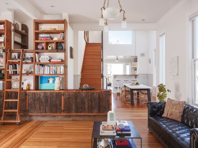Single Family Home for sales at Masterfully Renovated Victorian House 606 Kansas St San Francisco, California 94107 United States