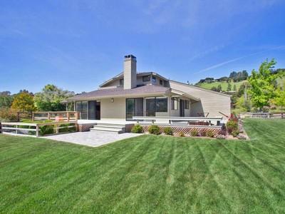 独户住宅 for sales at Carmel Valley Contemporary Ranch 42 Miramonte Road Carmel Valley, 加利福尼亚州 93924 美国