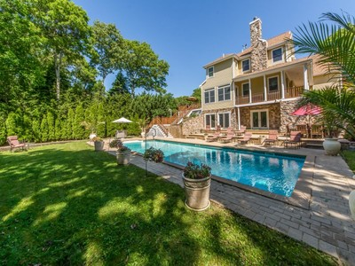 Single Family Home for sales at Privacy with a Waterview   Southampton, New York 11968 United States