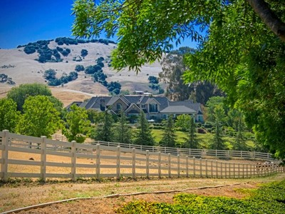 Single Family Home for sales at Astonishing 33-Acre Gated Paradise 2400 Heritage Manor Drive Gilroy, California 95020 United States