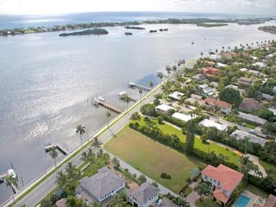 토지 for sales at West Palm Beach Waterfront on Flagler Dr 5961 S Flagler Drive West Palm Beach, 플로리다 33405 미국