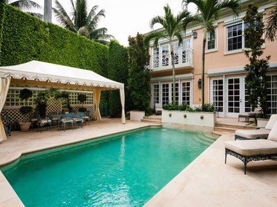Townhouse for sales at Exquisite Townhouse 419 Brazilian Ave  Palm Beach, Florida 33480 United States