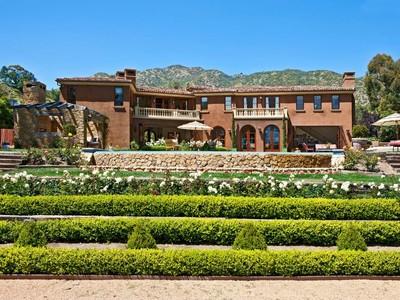 獨棟家庭住宅 for rentals at Incredible Italianate Estate 3551 Cross Creek Lane Malibu, 加利福尼亞州 90265 美國