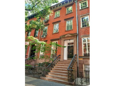 Maison unifamiliale for sales at 32 Grove Street  New York, New York 10014 États-Unis